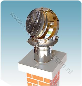 SCHOORSTEENKAP FIREMASTER ASPIROTOR 300 (Ø buitenmaat 300mm)
